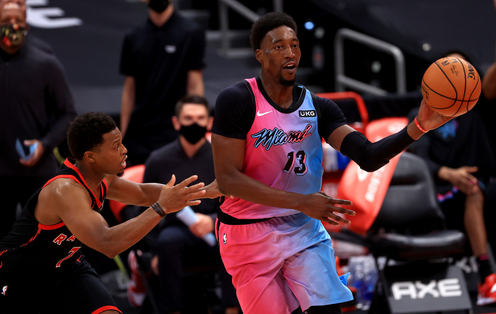 Bam Adebayo of Miami Heat is thought to be among the players sent an invite for Tokyo 2020 by USA Basketball ©Getty Images