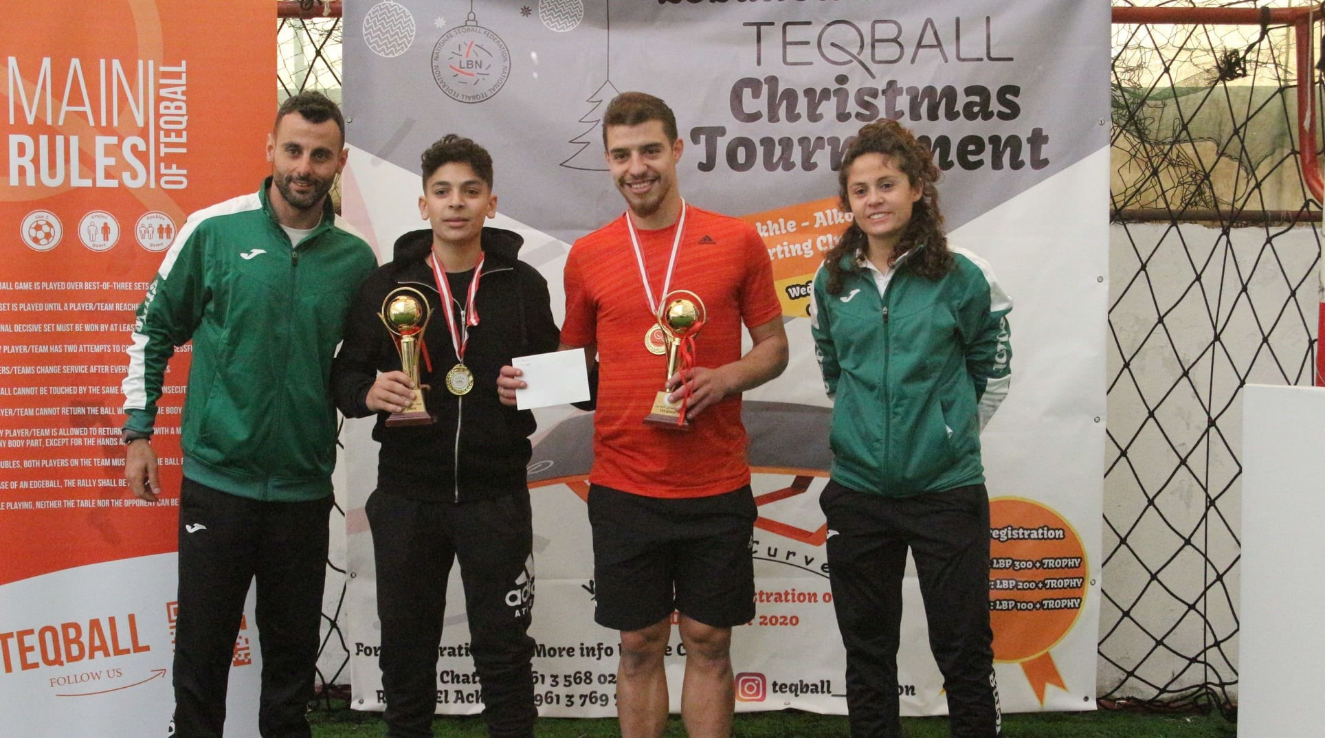 Twenty teams took part in the tournament in Lebanon ©FITEQ