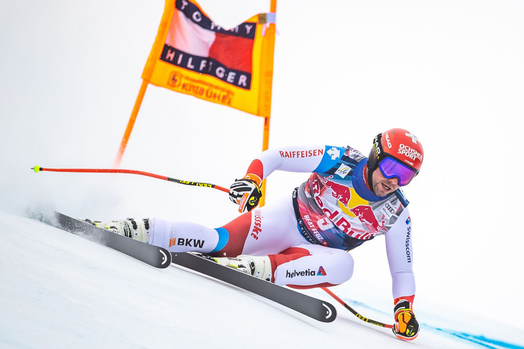 Feuz wins second straight Alpine Skiing World Cup downhill in Kitzbühel