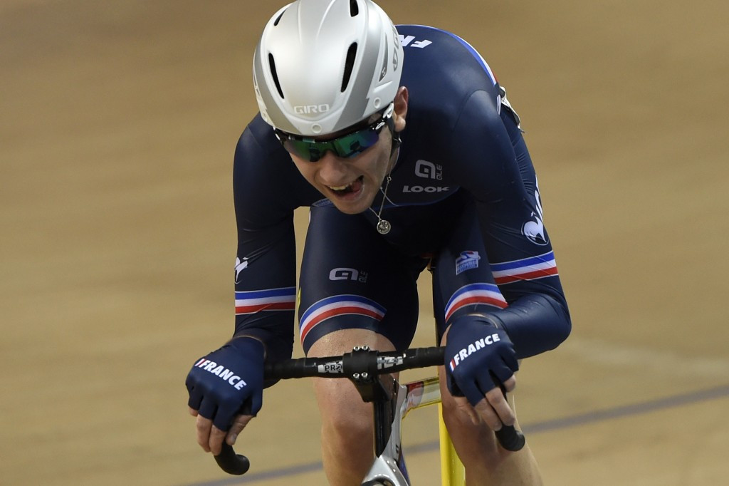 Thomas earns double gold for France on opening day of Track World Cup in Hong Kong