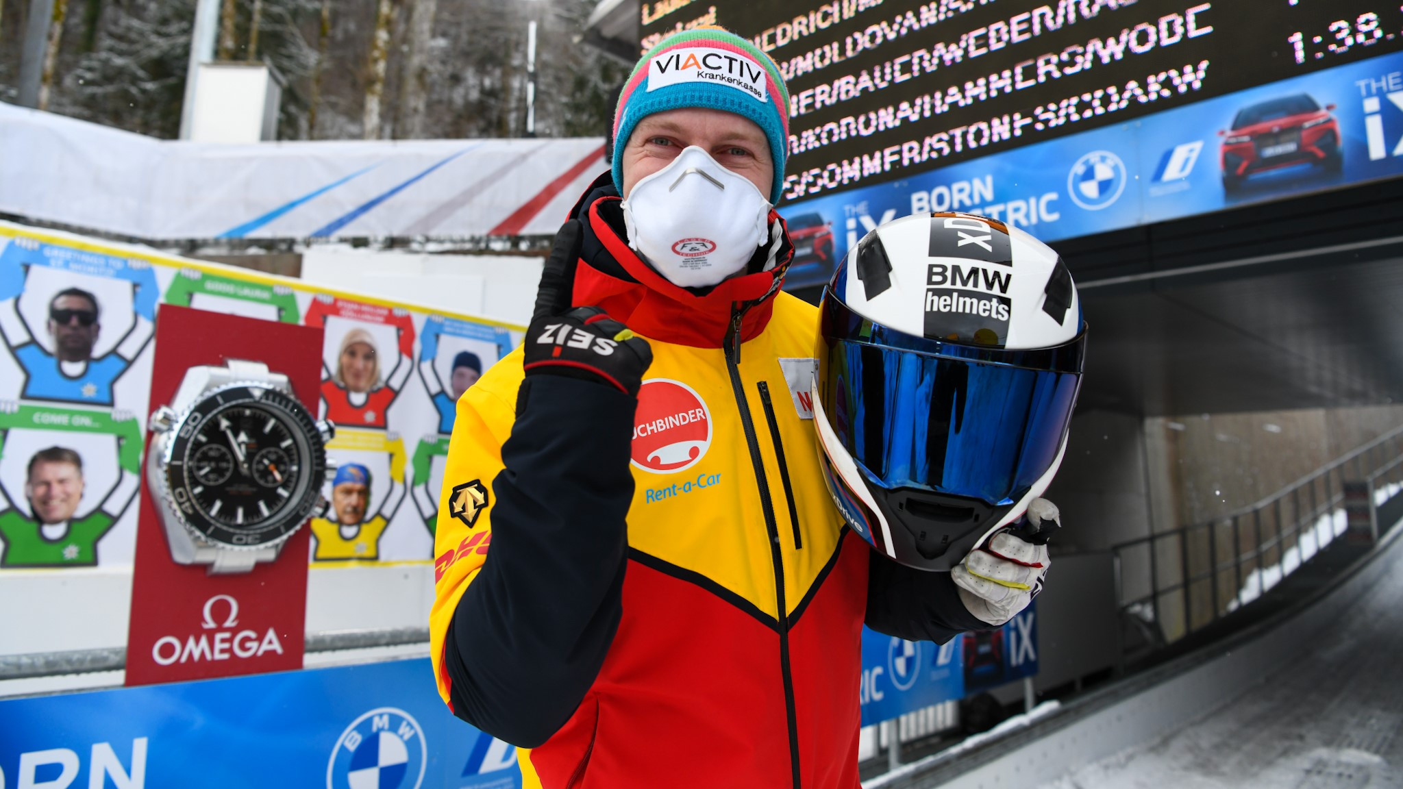 Friedrich earns 50th IBSF World Cup win with four-man showing in Königssee