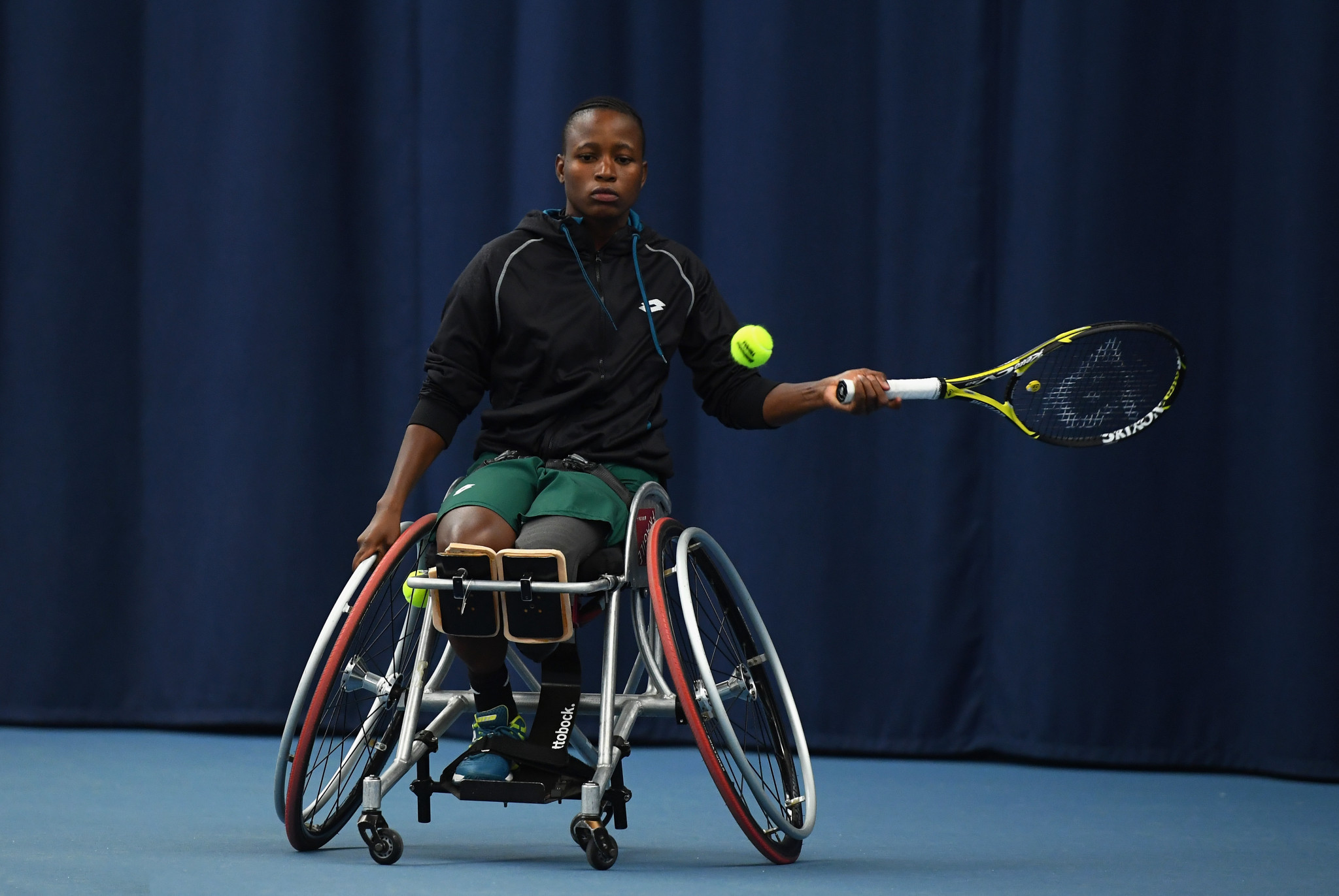 South African wheelchair tennis star Montjane aiming for first Australian Open final