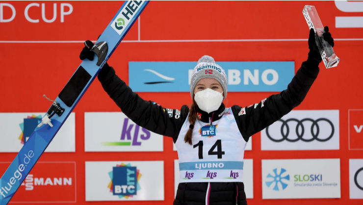 Kvandal earns first FIS Ski Jumping World Cup victory in Ljubno