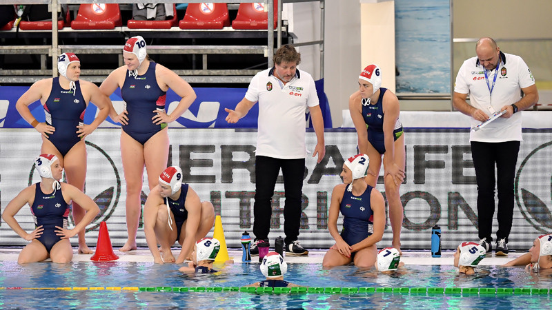 Hungary win women's Olympic water polo qualifier