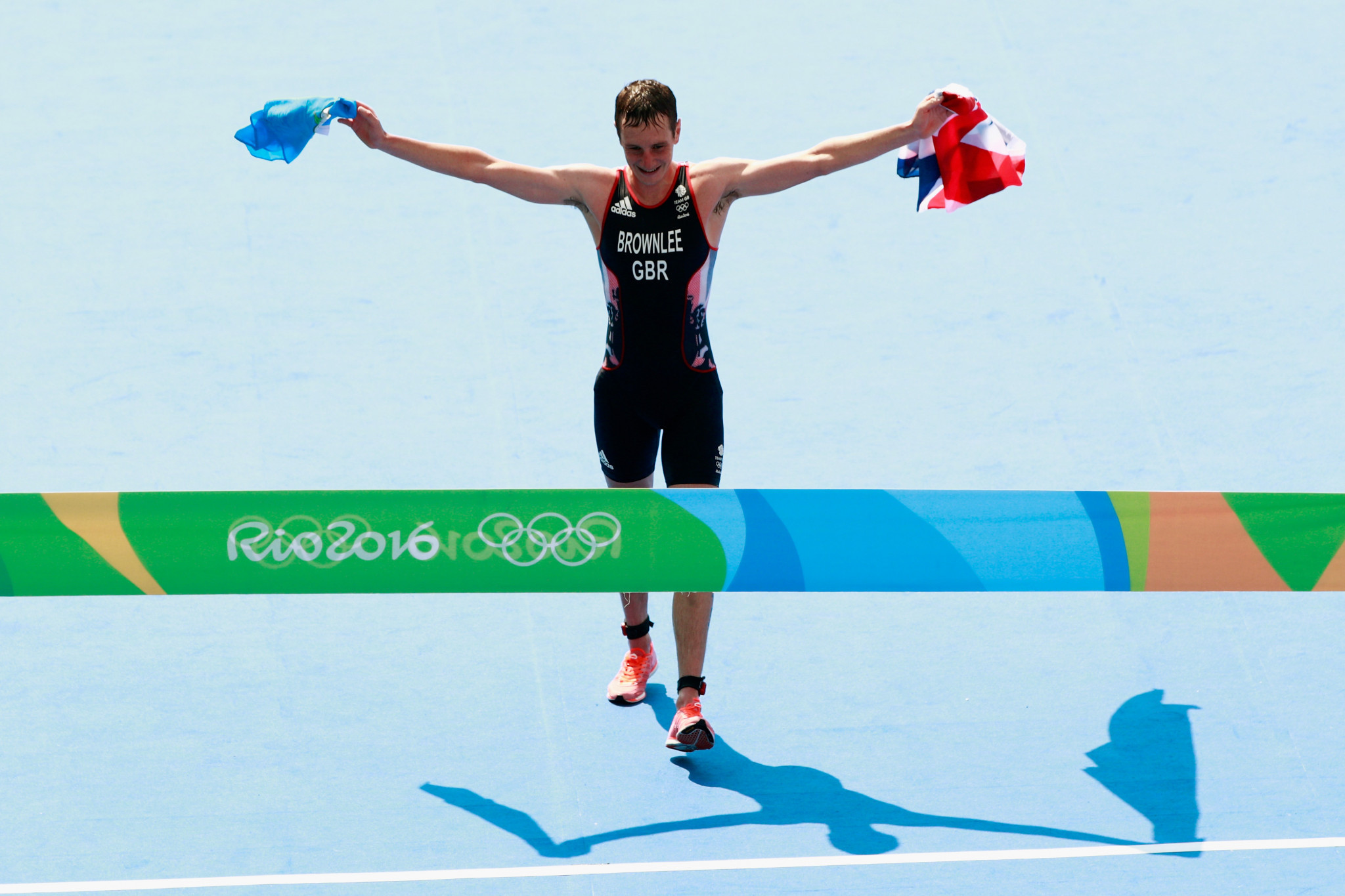 Two-time Olympic champion Alistair Brownlee has urged organisers not to rush a decision on Tokyo 2020 ©Getty Images