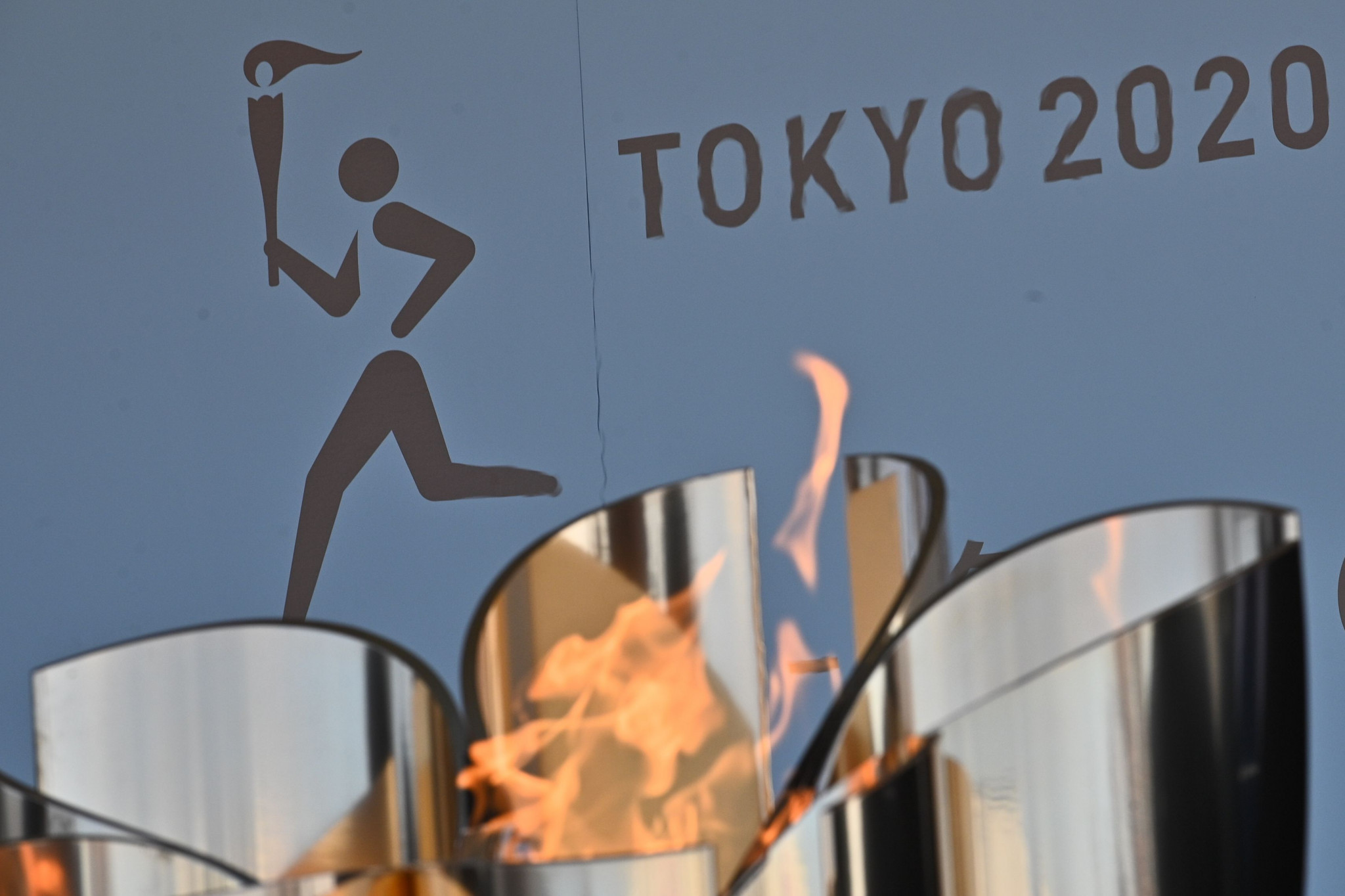 The Tokyo 2020 Torch Relay may be forced to divert away from public roads because of the state of emergency that Japan is currently in ©Getty Images