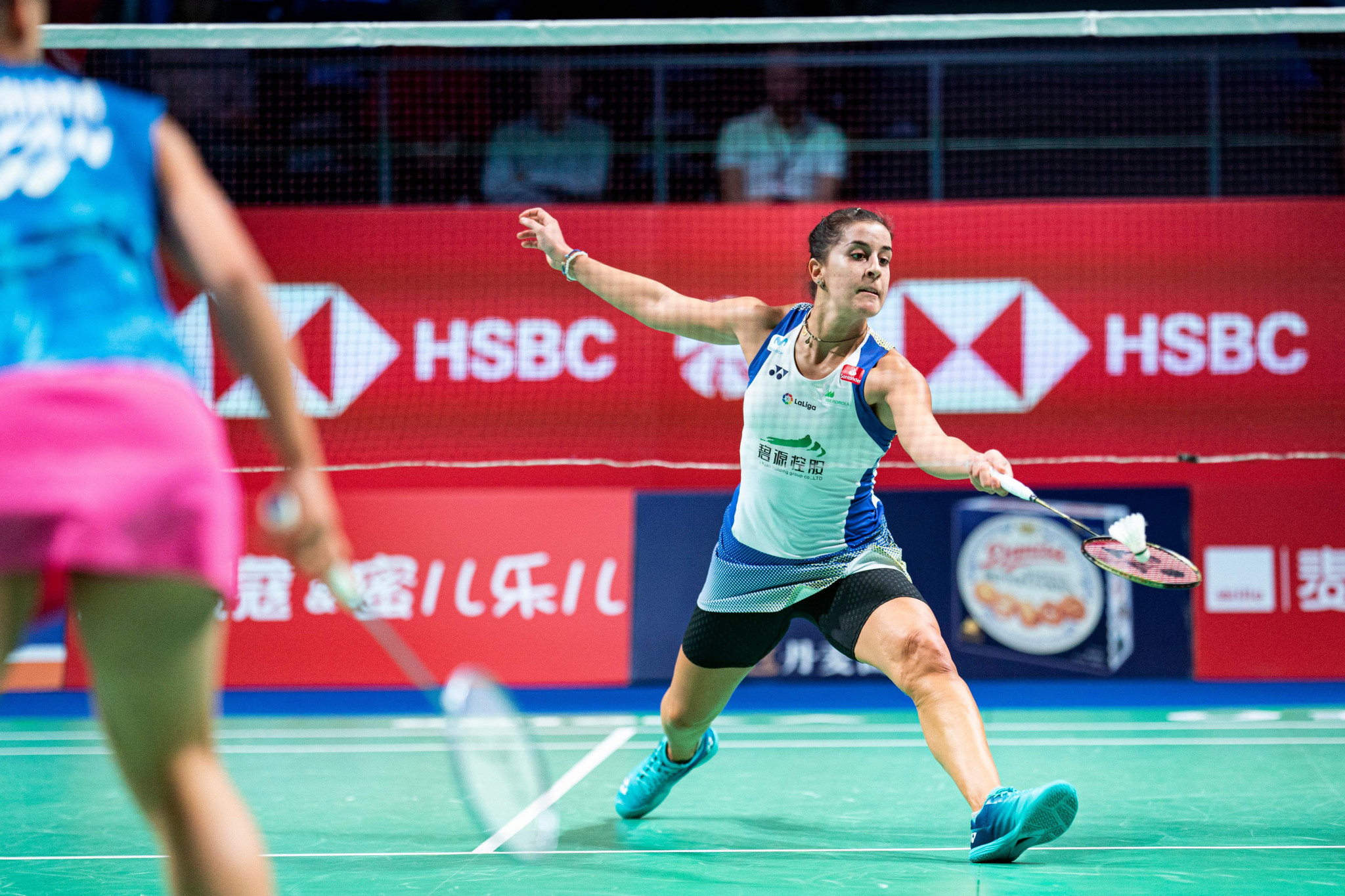 Spain's Carolina Marín is the top seed in the women's competition at the BWF World Tour Finals ©Getty Images
