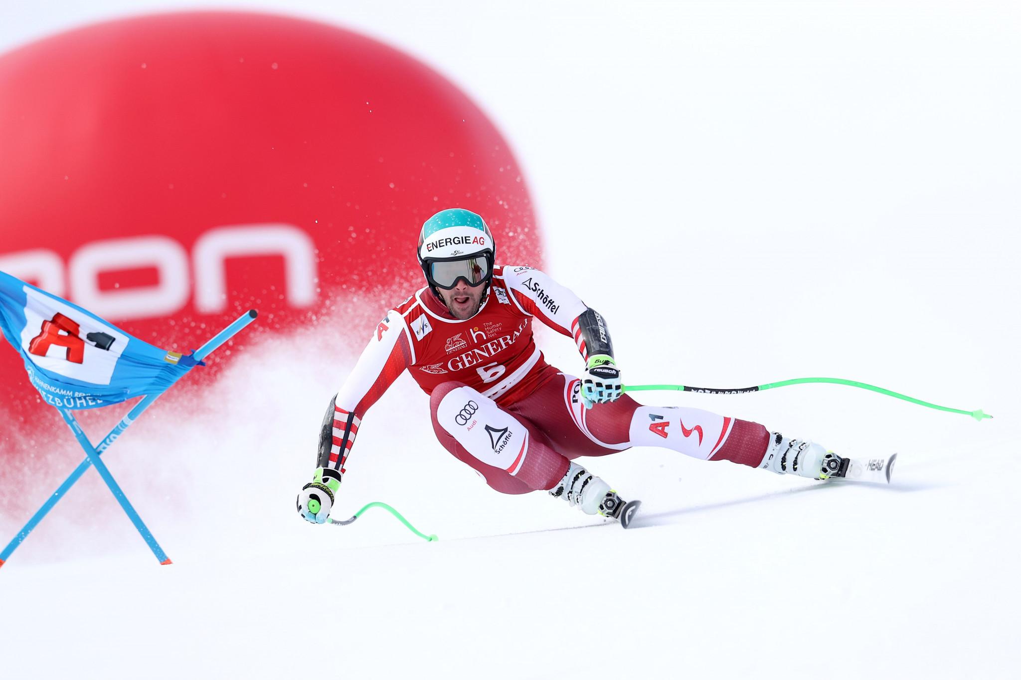 Kriechmayr earns first win of FIS Alpine Skiing World Cup season in Kitzbühel