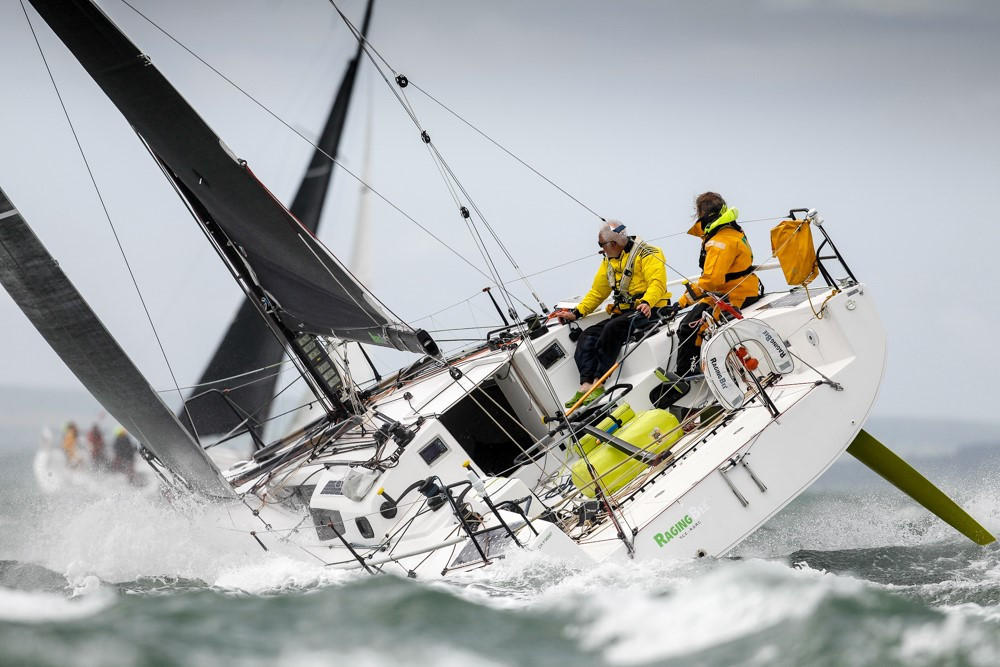 Offshore sailors will be selected at an extended version of the Royal Ocean Racing Club Channel Race ©RYA