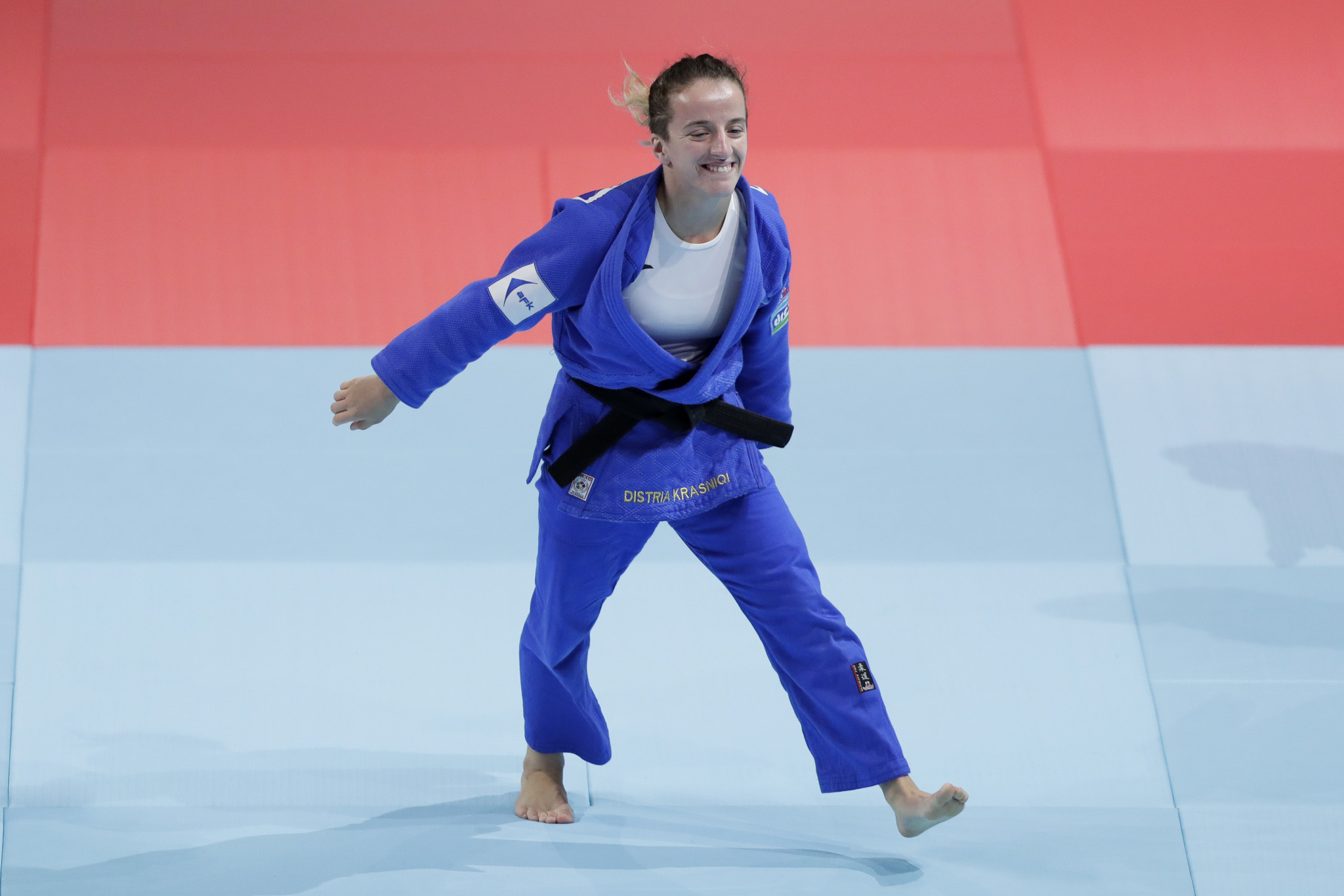 Distria Krasniqi is one of several Tokyo 2020 hopefuls for Kosovo ©Getty Images