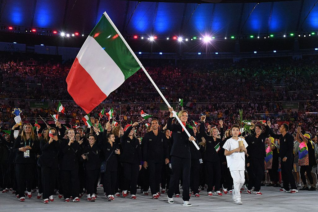 Italy is facing the possibility of its flag and anthem being banned from Tokyo 2020 ©Getty Images