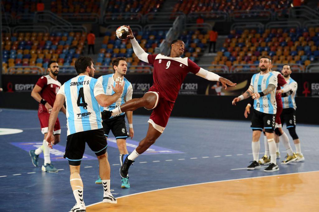 Rafael Capote a envoyé le Qatar en quarts de finale aux dépens de l'Argentine © Getty Images