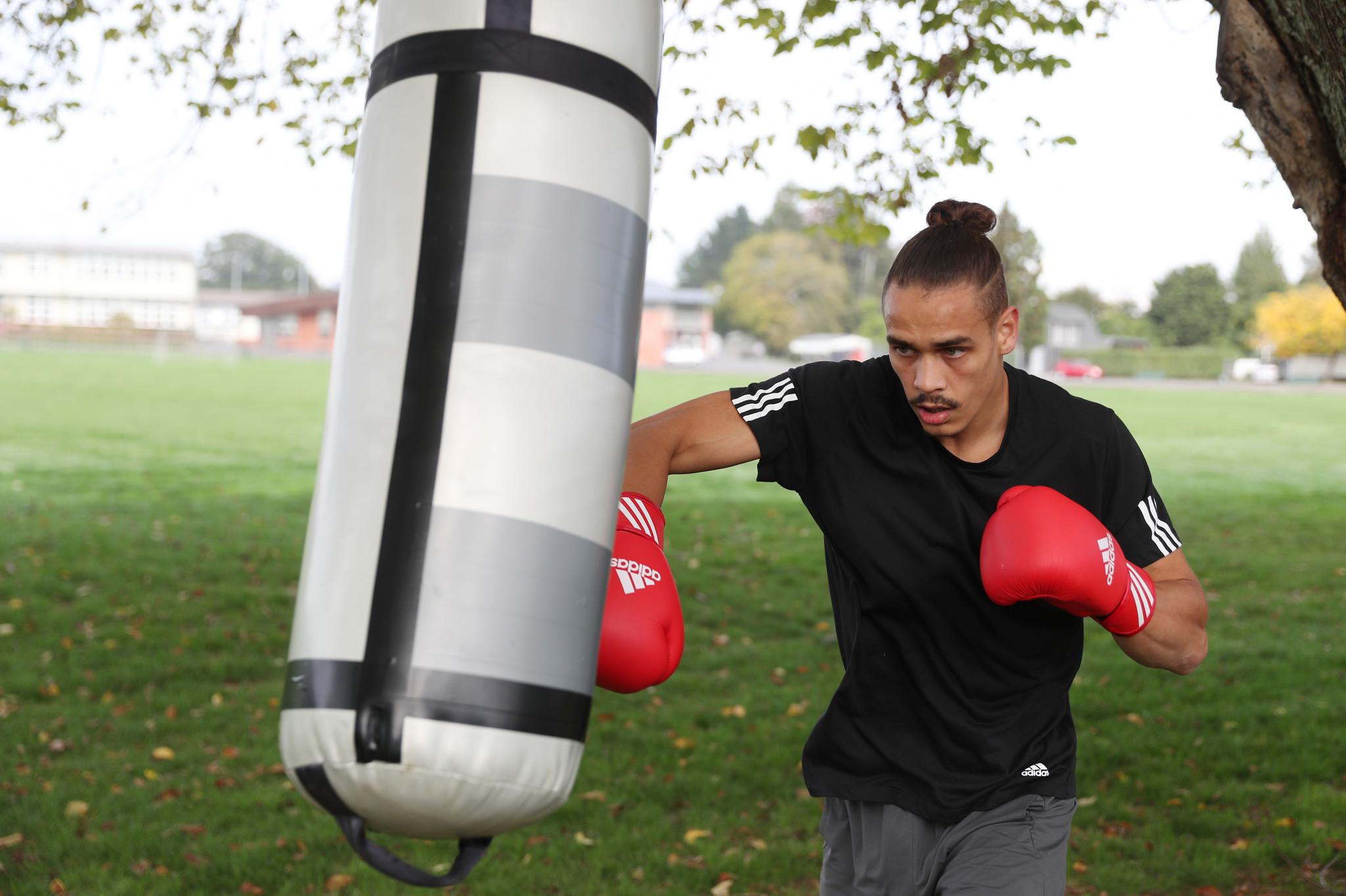 Nyika to make professional debut next month as boxer hones Tokyo 2020 preparations