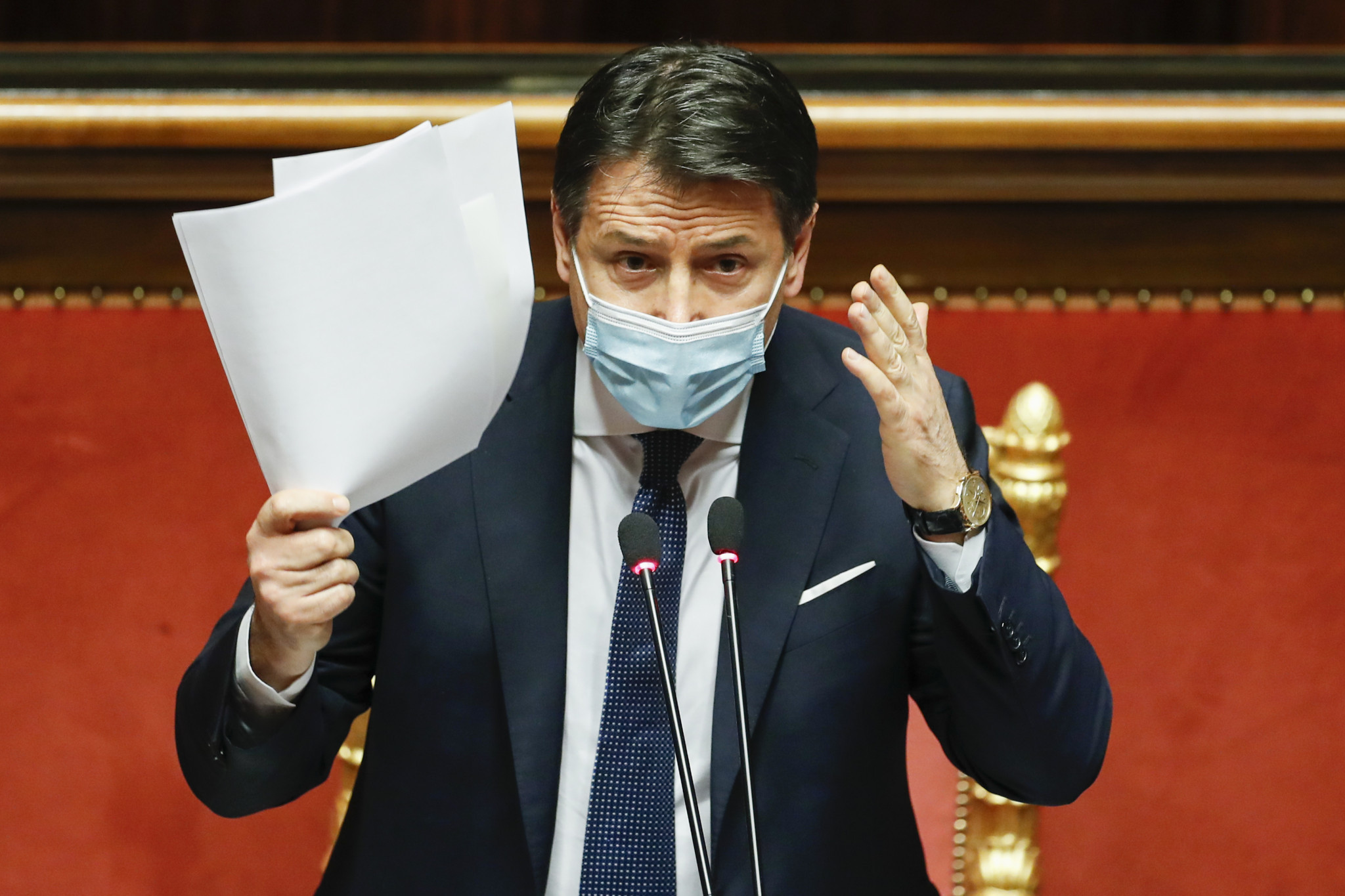 Giuseppe Conte has resigned as the Italian Prime Minister due to his handling of COVID-19 ©Getty Images