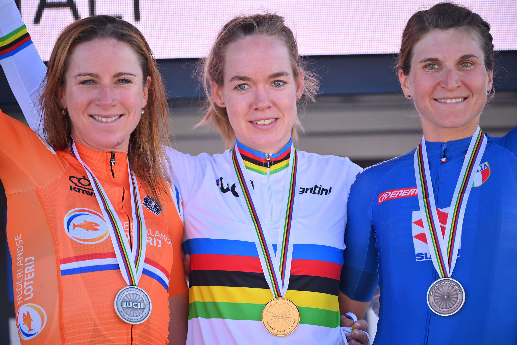 The UCI believe the commercialisation of the rainbow jerseys will help the sport reach new fans  ©Getty Images