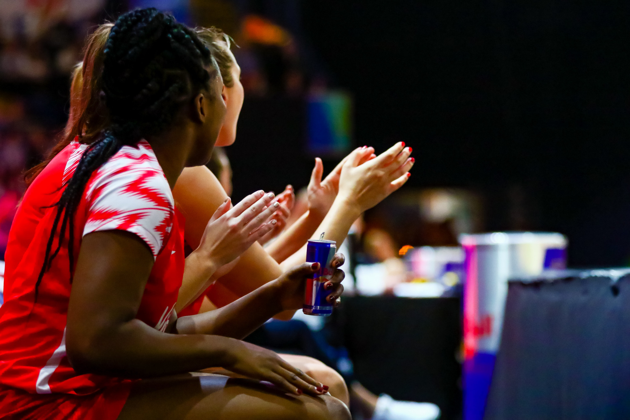 England Netball has extended its partnership with Red Bull until 2023 ©England Netball