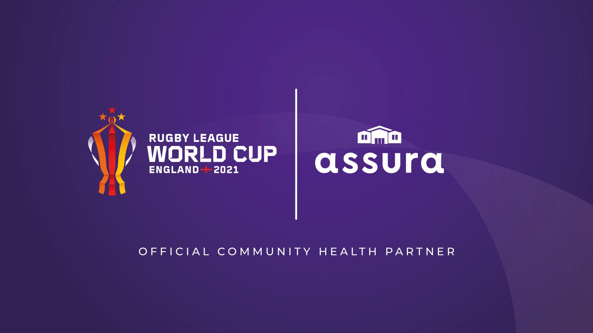 Rugby League World Cup 2021 announce Assura as community health partner