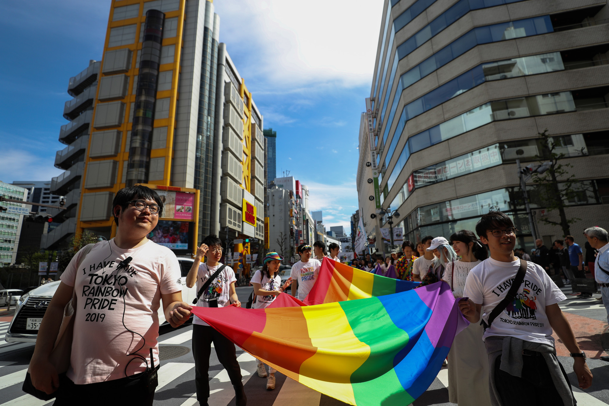 Rights groups have called for Japan to introduce an anti-discrimination law against LGBT people ©Getty Images