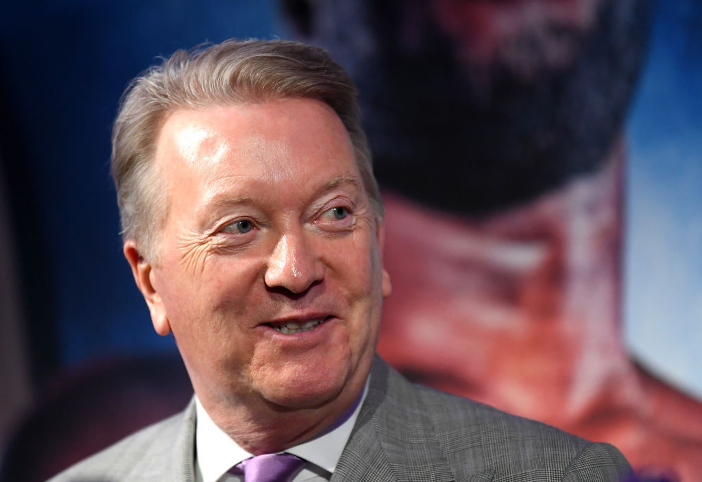Frank Warren became seriously ill after contracting COVID-19 ©Getty Images