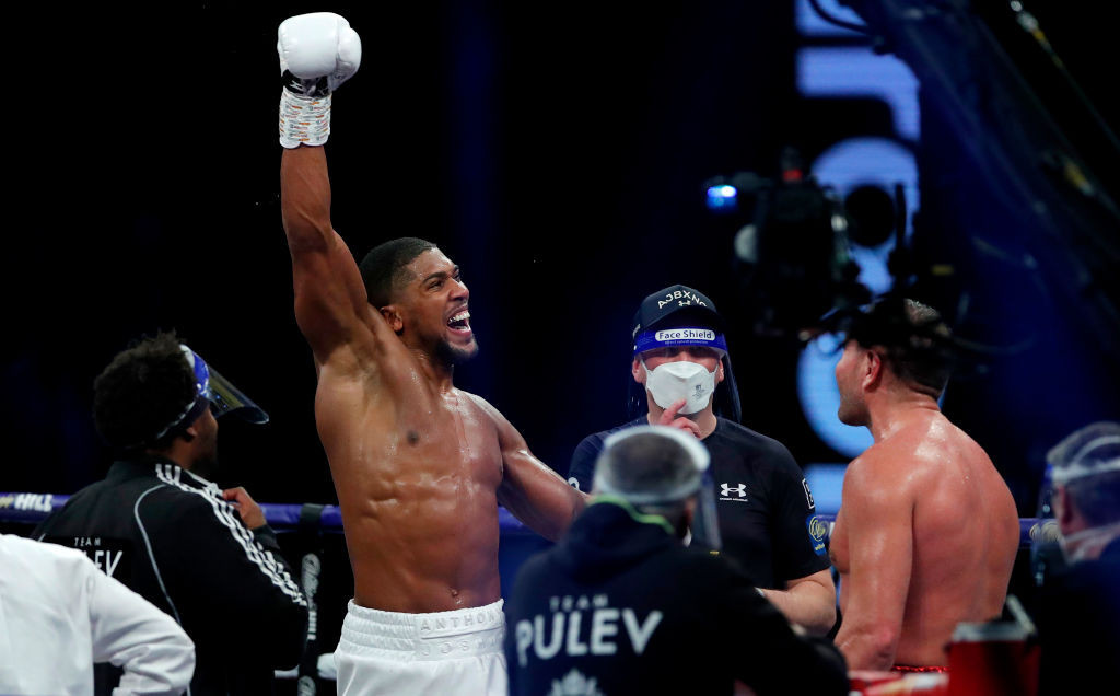 The boxing world is waiting with bated breath for confirmation of a fight between Anthony Joshua and Tyson Fury ©Getty Images
