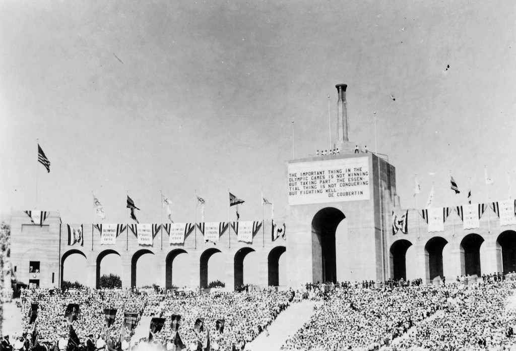 Los Angeles is bidding to host the Olympics for a third time, having staged them in 1932 and 1984 ©USOC