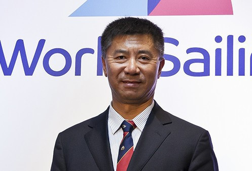 Quanhai Li was elected World Sailing President last year ©World Sailing