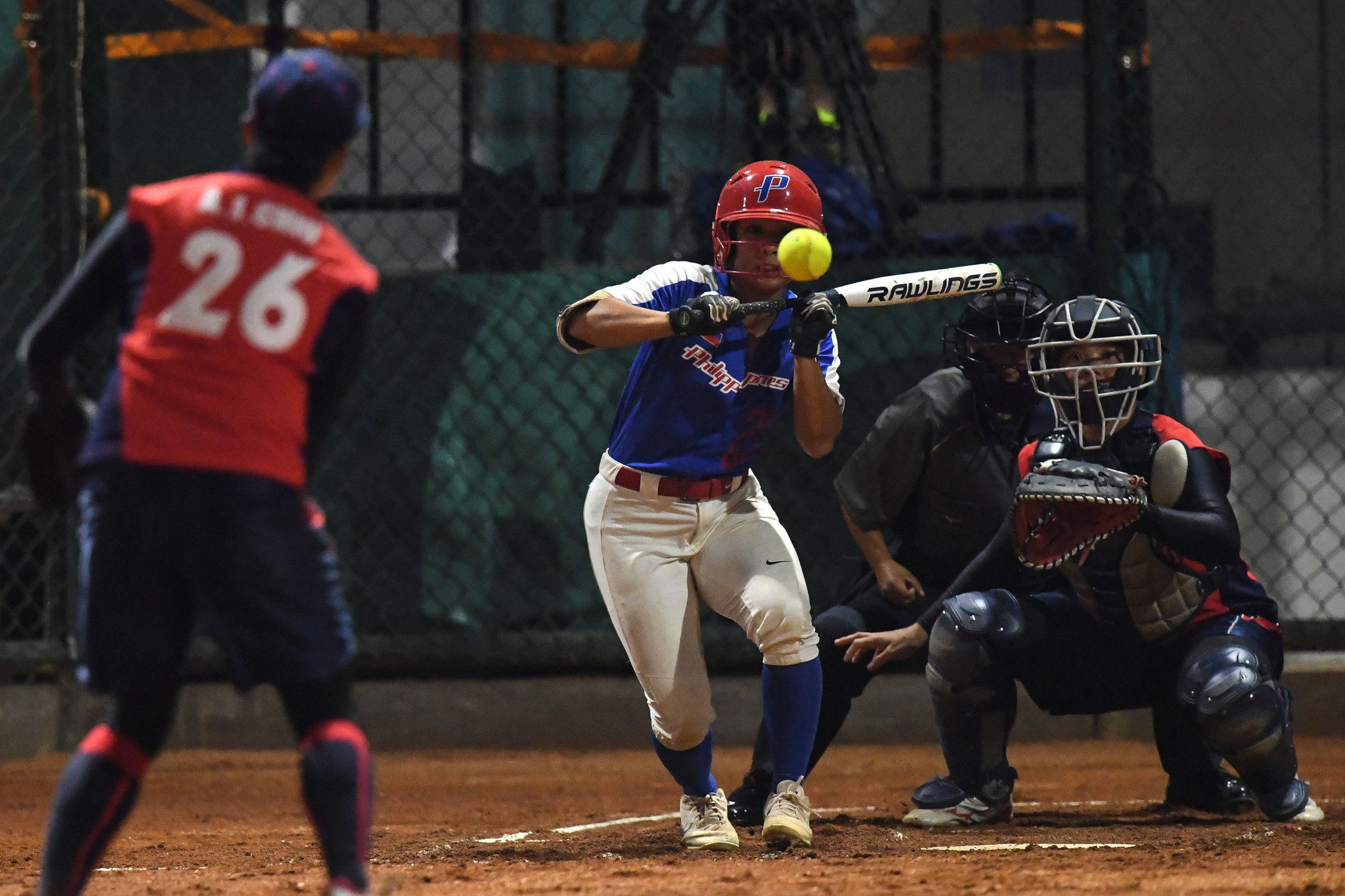 The Philippines softball team finished fourth at the 2018 Asian Games ©Getty Images