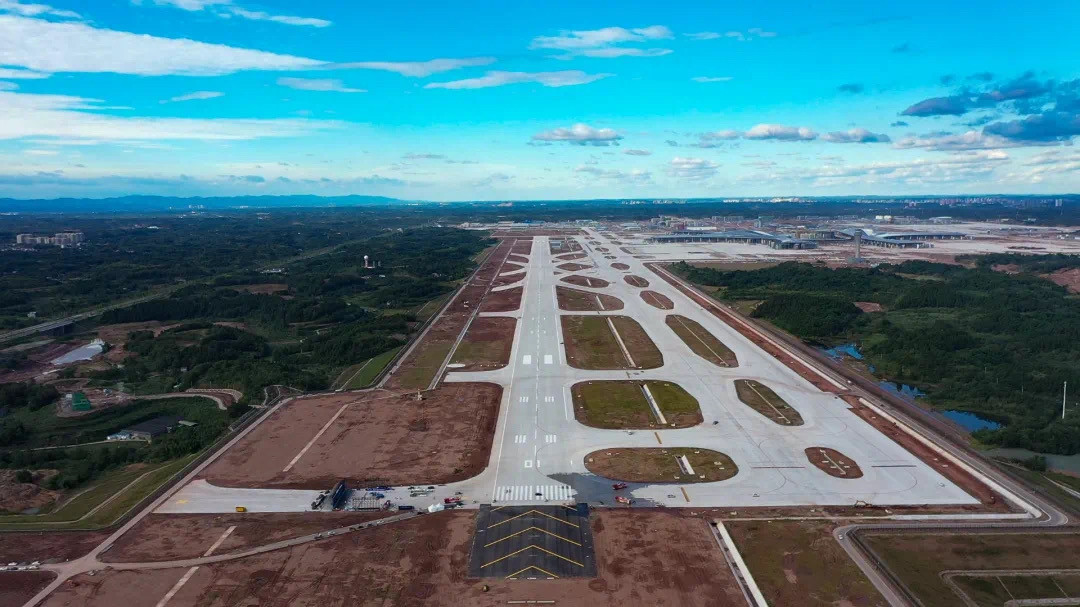 Chengdu's second airport starts test flights ahead of opening