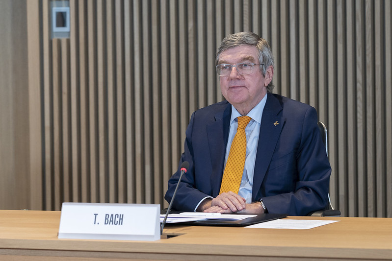 Thomas Bach will be re-elected IOC President during the virtual Session in March ©IOC