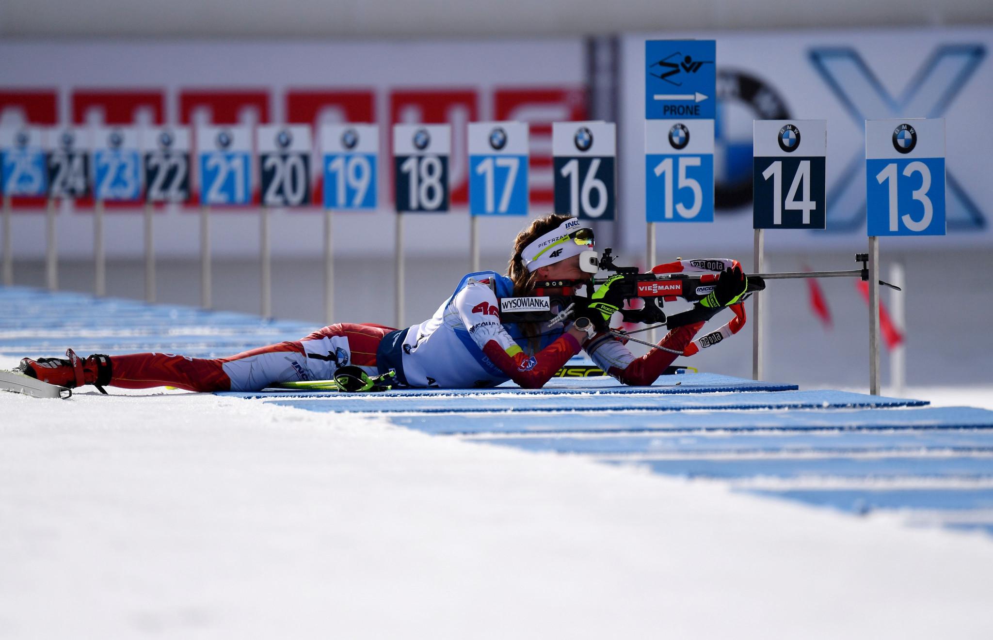 Hosts Poland enjoy success on first day of IBU Open European Championships