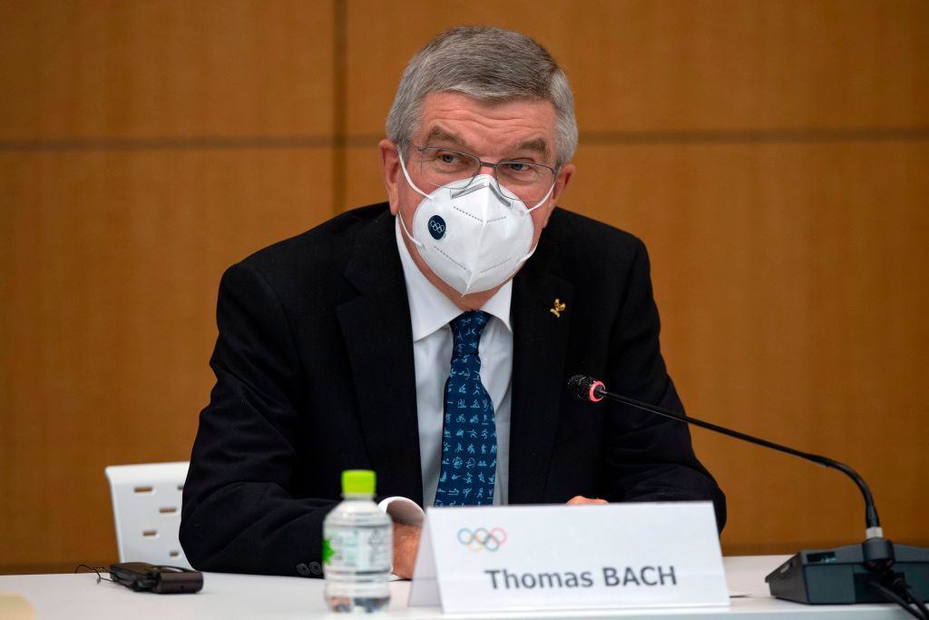 Thomas Bach has claimed speculation over Tokyo 2020 is harmful to athletes ©Getty Images