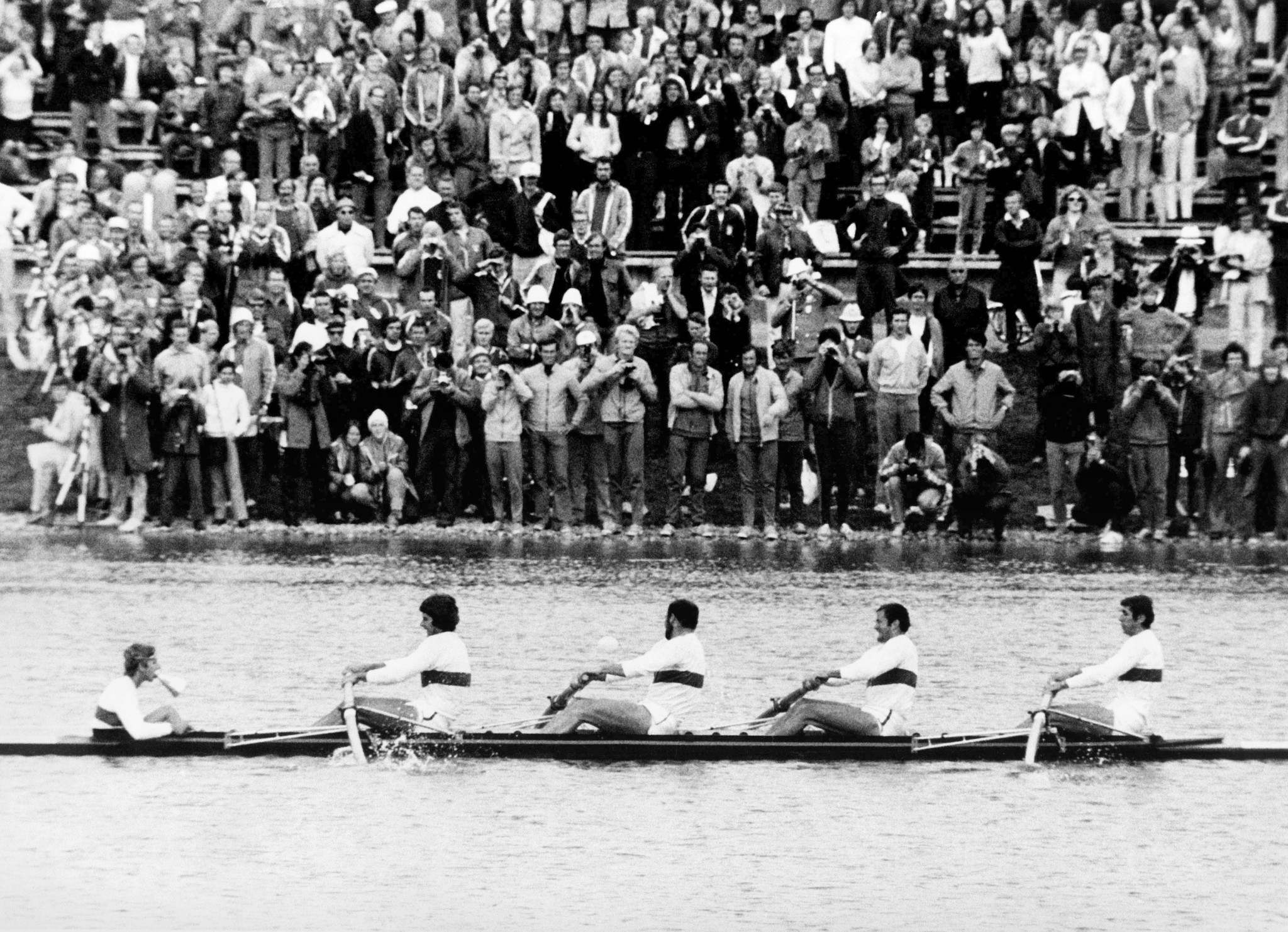 The regatta course in Oberschleißheim staged rowing competitions during the Munich 1972 Olympic Games ©Getty Images