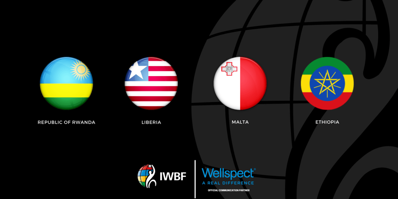 The International Wheelchair Basketball Federation has added four more members ©IWBF