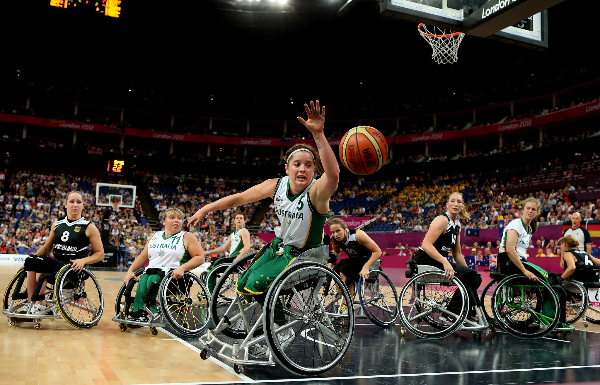 The International Wheelchair Basketball Federation now has 95 members ©Getty Images