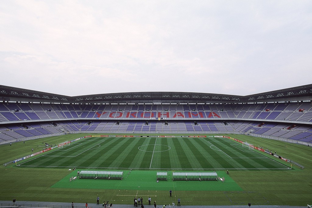 Rugby World Cup matches were moved to Yokohama International Stadium