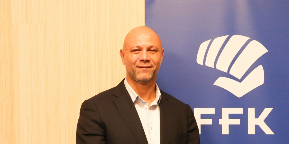 Gilles Cherdieu has been named technical director of the French Karate Federation ©FFK