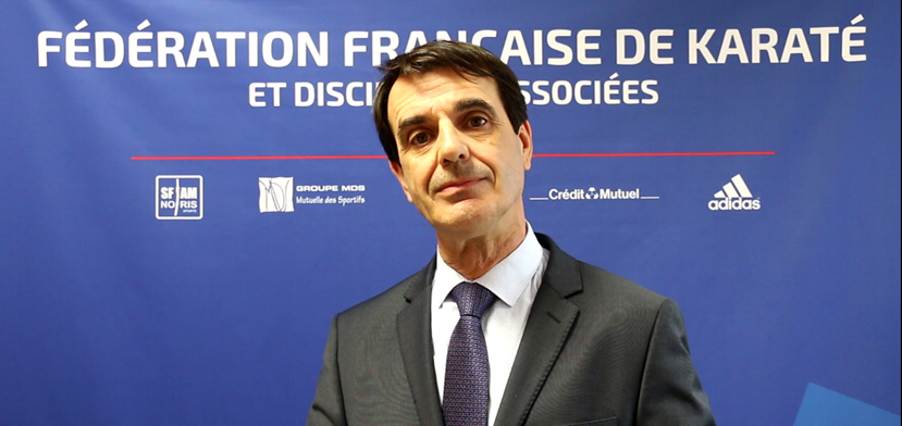 Dominique Charré stepped down from the role in December ©FFK