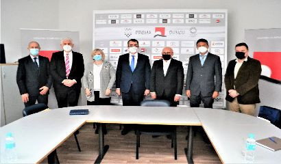 Zagreb teqball exhibition event proposed at meeting of Croatian Olympic Committee and Hungarian Ambassador