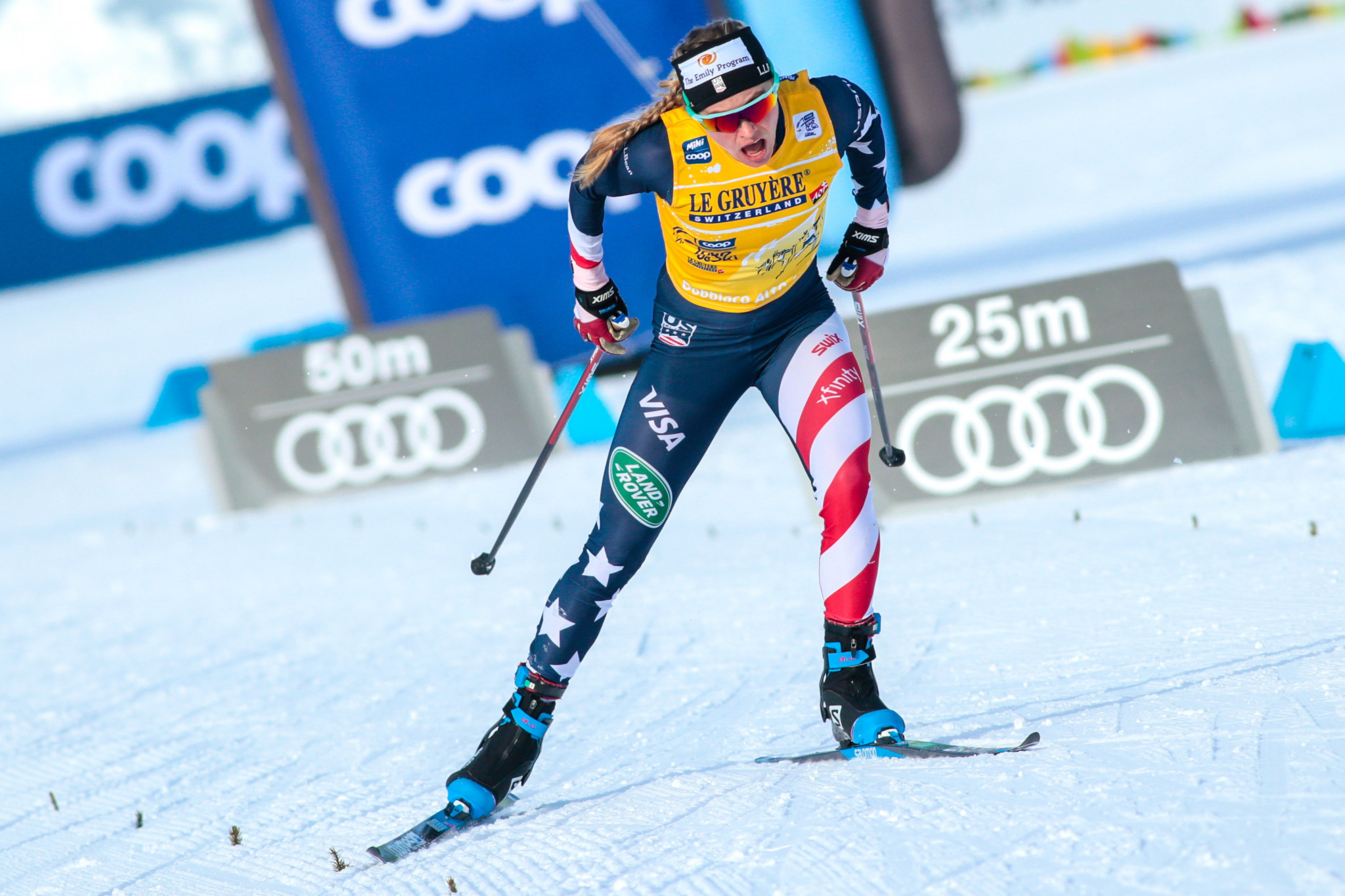 Bolshunov and Diggins extend FIS Cross-Country World Cup lead with victories in Falun