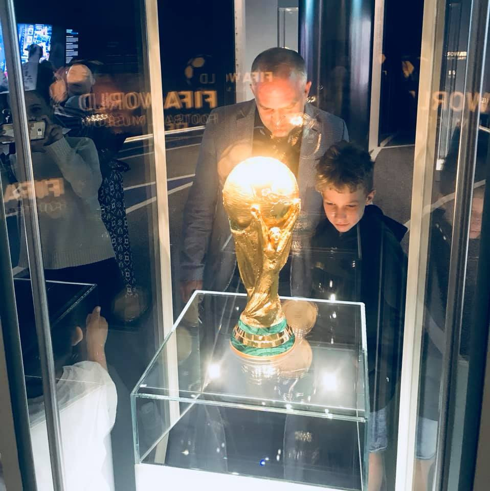 There are more than 1,000 exhibits in the FIFA Museum in Zurich ©FIFA Museum