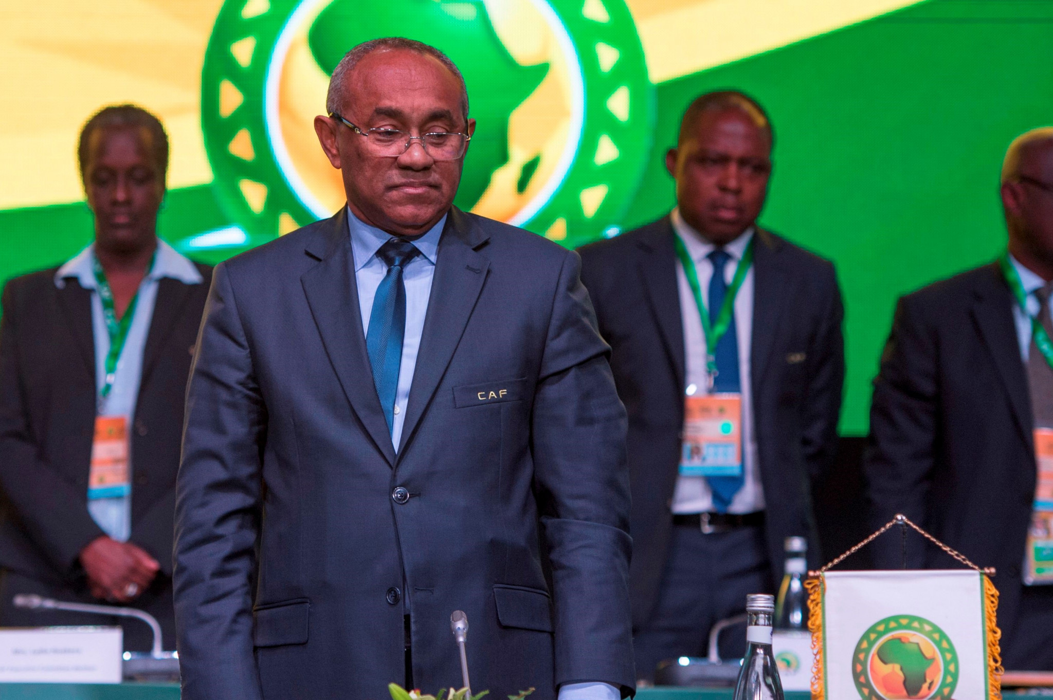 Ahmad restored as CAF President as CAS stays ban from football