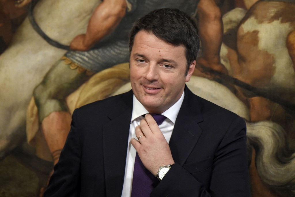 Rome 2024 are hoping that the support of Italian Prime Minister Matteo Renzi will be enough ©Getty Images