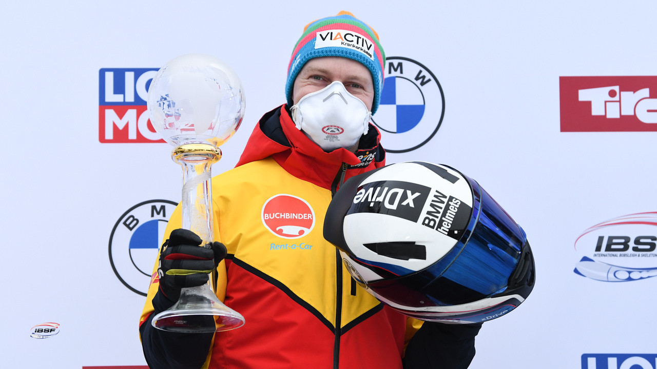 Friedrich earns fourth IBSF World Cup two-man title with Innsbruck win