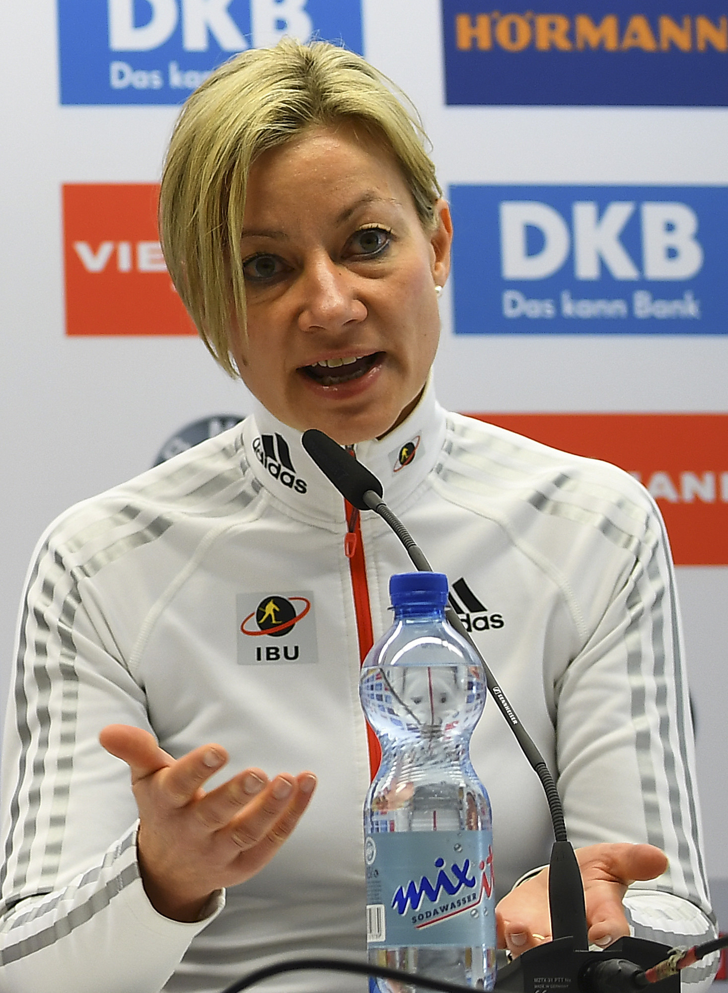 Nicole Resch was found to have place Russian interests before the IBU's doping policy while she was secretary general ©Getty Images