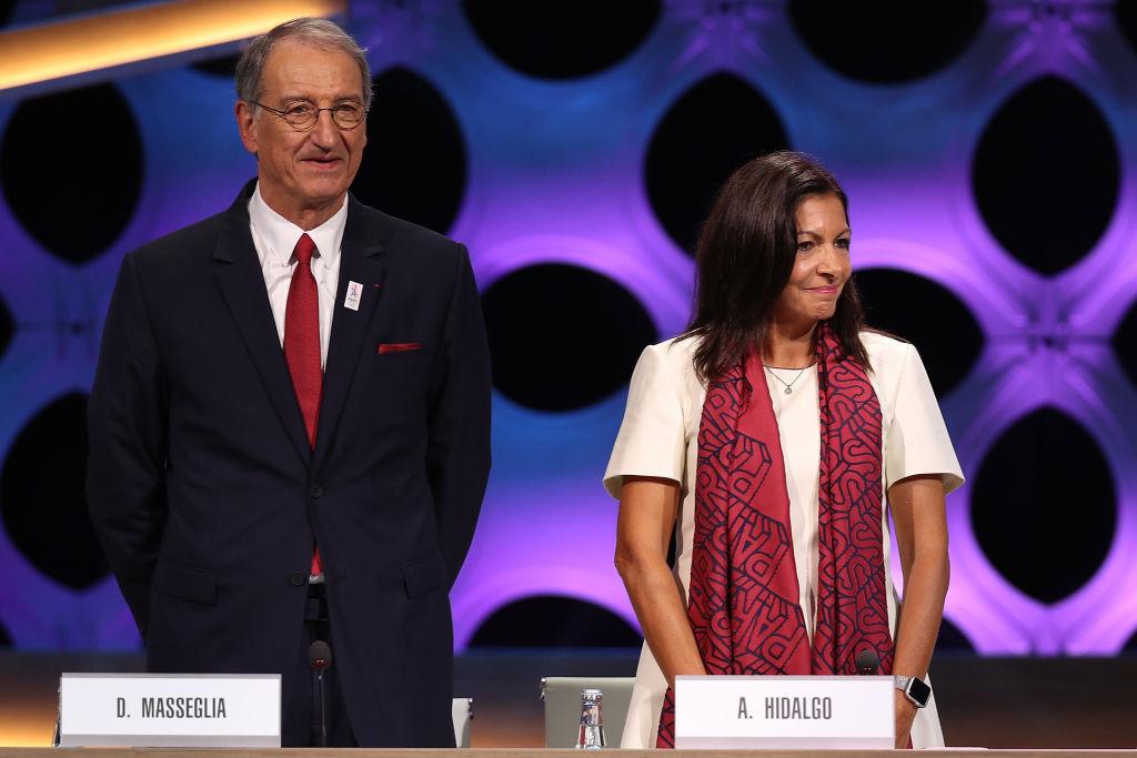 Le vainqueur de l'élection succèdera à Denis Massiglia, à gauche, à la présidence du CNOSF © Getty Images