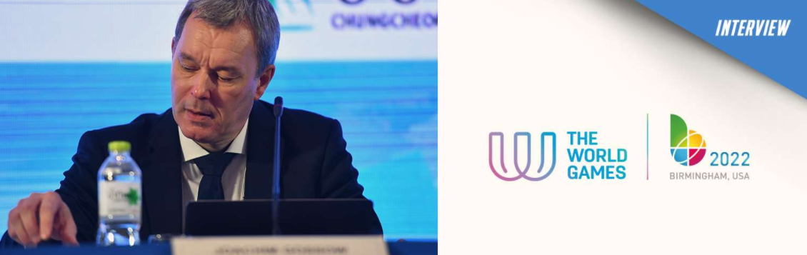 Further disruption to the re-scheduled 2022 World Games cannot be ruled out, says IWGA chief executive Joachim Gossow ©IWGA