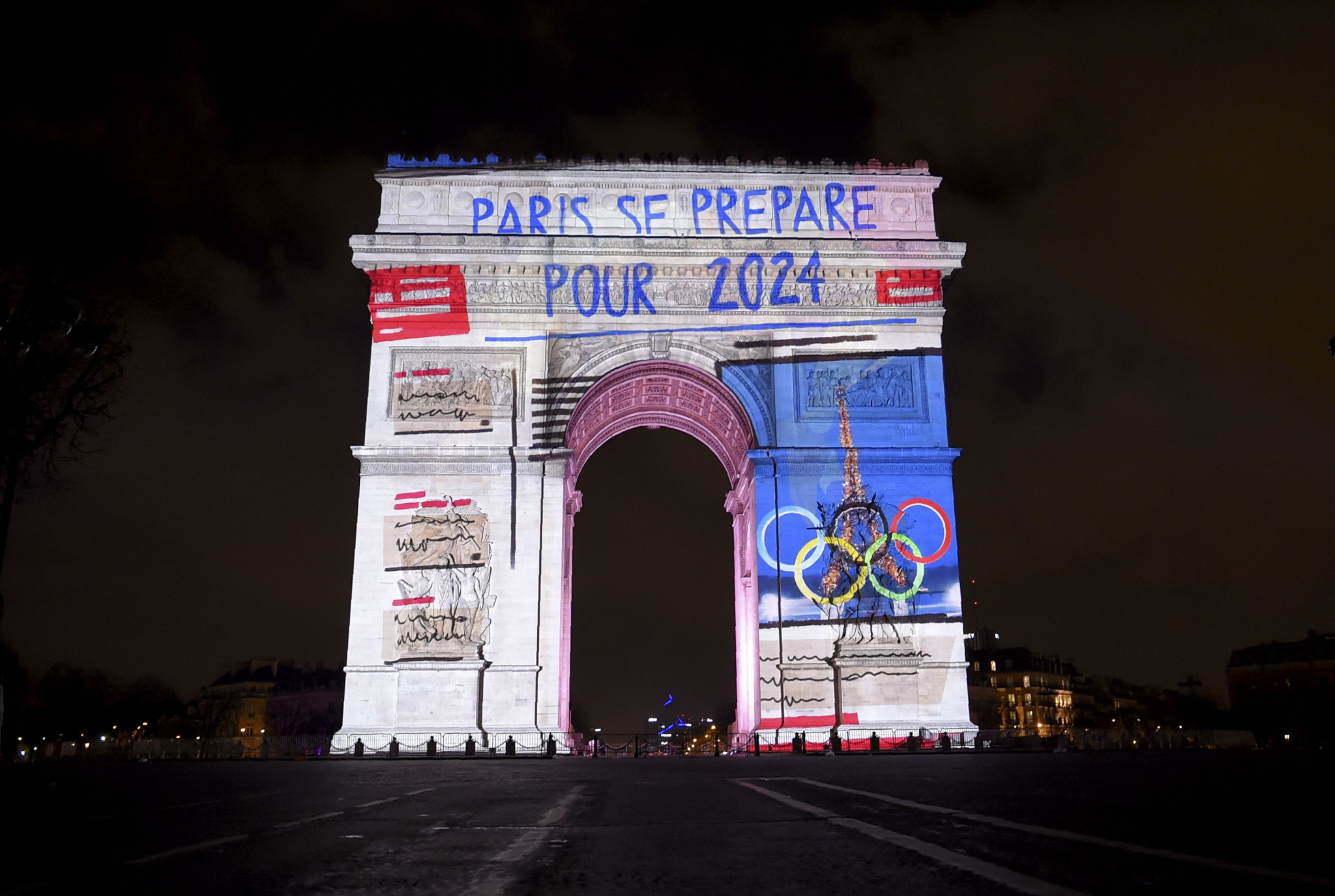 The Champs-Élysées could feature in a Paris 2024 Opening or Closing Ceremony ©Getty Images