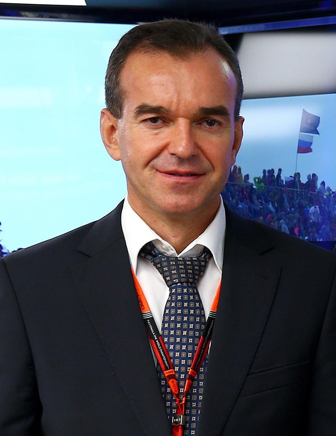 Veniamin Kondratyev, the governor of Krasnodar Krai, has spoken of the region's intention to bid for the European Sambo Championships in 2024 ©Getty Images