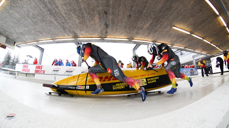 Friedrich sweeps board in IBSF World Cup with four-man triumph at Innsbruck