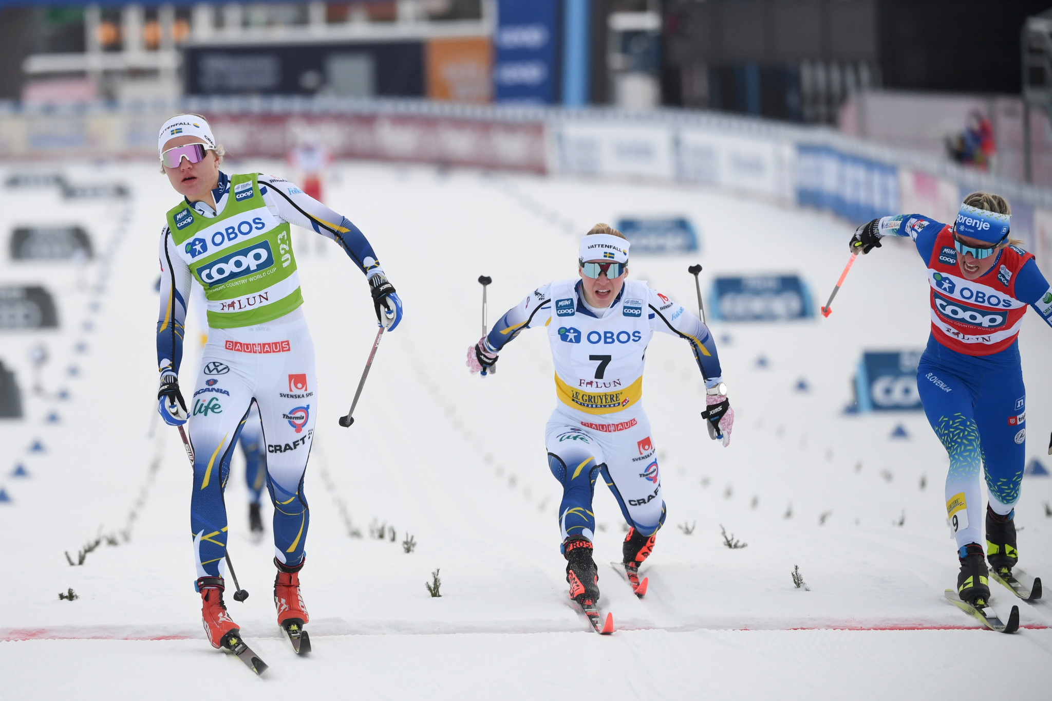 Svahn completes Falun double as Klæbo earns FIS Cross-Country World Cup victory